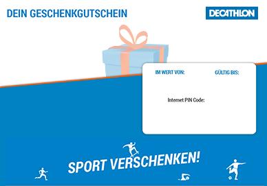 Digitaler Geschenkgutschein plane